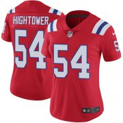 Wholesale Cheap Nike Patriots #54 Dont'a Hightower Red Alternate Women's Stitched NFL Vapor Untouchable Limited Jersey