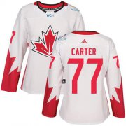 Wholesale Cheap Team Canada #77 Jeff Carter White 2016 World Cup Women's Stitched NHL Jersey