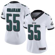 Wholesale Cheap Nike Eagles #55 Brandon Graham White Women's Stitched NFL Vapor Untouchable Limited Jersey