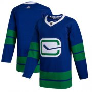 Wholesale Adidas Canucks #4 Michael Del Zotto Blue Home Authentic Drift Fashion Stitched NHL Jersey