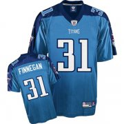Wholesale Cheap Titans #31 Cortland Finnegan Stitched Baby Blue NFL Jersey