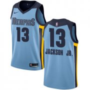 Wholesale Cheap Nike Memphis Grizzlies #13 Jaren Jackson Jr. Light Blue NBA Swingman Statement Edition Jersey