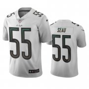 Wholesale Cheap Los Angeles Chargers #55 Junior Seau White Vapor Limited City Edition NFL Jersey