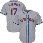 Wholesale Cheap Mets #17 Keith Hernandez Grey Cool Base Stitched Youth MLB Jersey
