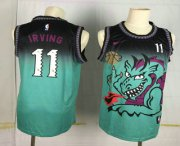 Wholesale Cheap Men's Brooklyn Nets #11 Kyrie Irving Green Dragon Nike Swingman Stitched NBA Jersey