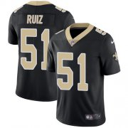 Wholesale Cheap Nike Saints #51 Cesar Ruiz Black Team Color Youth Stitched NFL Vapor Untouchable Limited Jersey