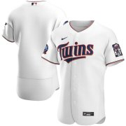Wholesale Cheap Minnesota Twins Men's Nike White Home 2020 60th Season Authentic Team MLB Jersey