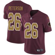 Wholesale Cheap Nike Redskins #26 Adrian Peterson Burgundy Red Alternate Men's Stitched NFL Vapor Untouchable Limited Jersey