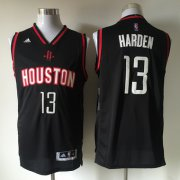 Wholesale Cheap Men's Houston Rockets #13 James Harden Revolution 30 Swingman 2015-16 New Black Jersey