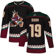 Wholesale Adidas Coyotes #19 Shane Doan Maroon Home Authentic Stitched NHL Jersey