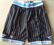 Wholesale Cheap Men's Orlando Magic Black Pinstripe Short