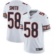 Wholesale Cheap Nike Bears #58 Roquan Smith White Men's Stitched NFL Vapor Untouchable Limited Jersey
