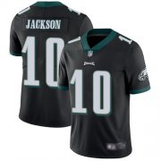 Wholesale Cheap Nike Eagles #10 DeSean Jackson Black Alternate Men's Stitched NFL Vapor Untouchable Limited Jersey