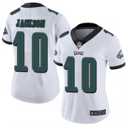 Wholesale Cheap Nike Eagles #10 DeSean Jackson White Women's Stitched NFL Vapor Untouchable Limited Jersey