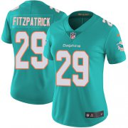 Wholesale Cheap Nike Dolphins #29 Minkah Fitzpatrick Aqua Green Team Color Women's Stitched NFL Vapor Untouchable Limited Jersey