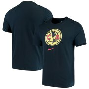 Wholesale Cheap Club America Nike Evergreen Crest T-Shirt Navy