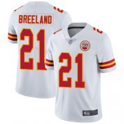 Wholesale Cheap Nike Chiefs #21 Bashaud Breeland White Men's Stitched NFL Vapor Untouchable Limited Jersey