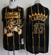 Wholesale Cheap Mitchell And Ness Raptors #15 Vince Carter Purple Throwback Stitched NBA Jersey