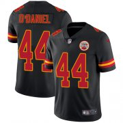 Wholesale Cheap Nike Chiefs #44 Dorian O'Daniel Black Men's Stitched NFL Limited Rush Jersey