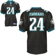 Wholesale Cheap Eagles #24 Nnamdi Asomugha Black Stitched NFL Jersey