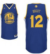 Wholesale Cheap Golden State Warriors #12 Andrew Bogut Blue Swingman Jersey