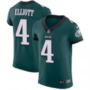 Wholesale Cheap Nike Eagles #4 Jake Elliott Midnight Green Team Color Men's Stitched NFL Vapor Untouchable Elite Jersey