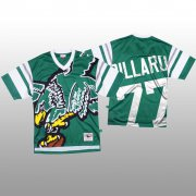 Wholesale Cheap NFL Philadelphia Eagles #77 Andre Dillard Green Men's Mitchell & Nell Big Face Fashion Limited NFL Jersey