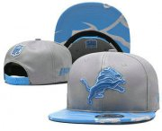 Wholesale Cheap Detroit Lions Snapback Ajustable Cap Hat YD