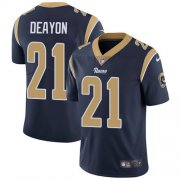 Wholesale Cheap Nike Rams #21 Donte Deayon Navy Blue Team Color Youth Stitched NFL Vapor Untouchable Limited Jersey