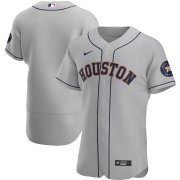 Wholesale Cheap Houston Astros Men's Nike Gray Road 2020 Authentic Official Team MLB Jersey