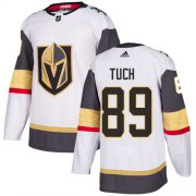 Wholesale Cheap Adidas Golden Knights #89 Alex Tuch White Road Authentic Stitched Youth NHL Jersey