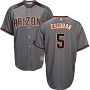 Wholesale Cheap Diamondbacks #5 Eduardo Escobar Gray Road Stitched Youth MLB Jersey