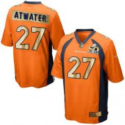 Wholesale Cheap Nike Broncos #27 Steve Atwater Orange Team Color Men's Stitched NFL Game Super Bowl 50 Collection Jersey