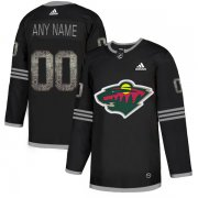 Wholesale Cheap Men's Adidas Wild Personalized Authentic Black Classic NHL Jersey