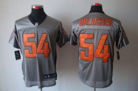 Wholesale Cheap Nike Bears #54 Brian Urlacher Grey Shadow Men\'s Stitched NFL Elite Jersey