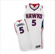 Wholesale Cheap NBA Revolution 30 Atlanta Hawks #5 DeMarre Carroll White Stitched Jersey