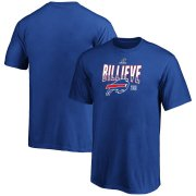 Wholesale Cheap Buffalo Bills Youth 2019 NFL Playoffs Bound Hometown Checkdown T-Shirt Royal