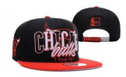 Wholesale Cheap NBA Chicago Bulls Snapback Ajustable Cap Hat DF 03-13_60