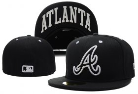Wholesale Cheap Atlanta Braves fitted hats 07