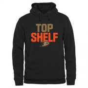 Wholesale Cheap Anaheim Ducks Top Shelf Pullover Hoodie Black