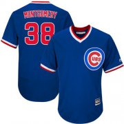 Wholesale Cheap Cubs #38 Mike Montgomery Blue Flexbase Authentic Collection Cooperstown Stitched MLB Jersey