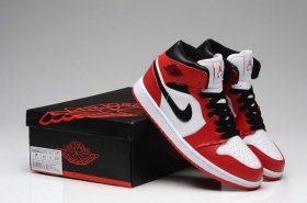 Wholesale Cheap Air Jordan 1 New Color Shoes Red/Black/White