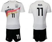 Wholesale Cheap Germany #11 Reus White Home Soccer Country Jersey