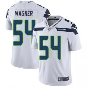 Wholesale Cheap Nike Seahawks #54 Bobby Wagner White Men's Stitched NFL Vapor Untouchable Limited Jersey