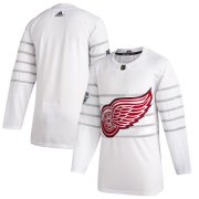 Wholesale Cheap Men's Detroit Red Wings Adidas White 2020 NHL All-Star Game Authentic Jersey