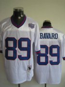 Wholesale Cheap Mitchell and Ness Giants #89 Mark Bavaro Stitched White NFL Jersey