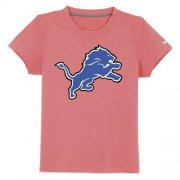 Wholesale Cheap Detroit Lions Sideline Legend Authentic Logo Youth T-Shirt Pink