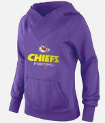 Wholesale Cheap Women's Kansas City Chiefs Big & Tall Critical Victory Pullover Hoodie Purple