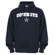 Wholesale Cheap Dallas Cowboys Crowell Pullover Hoodie Navy