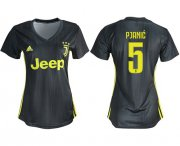Wholesale Cheap Women's Juventus #5 Pjanic Third Soccer Club Jersey